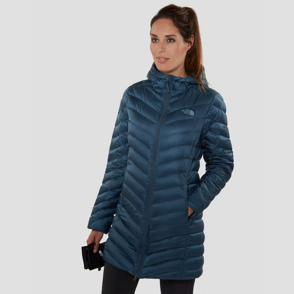 Dames Parka Zomerjas.The North Face Trevail Parka Jas Blauw Dames Perrysport