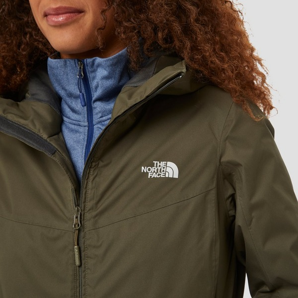 THE NORTH FACE QUEST INSULATED OUTDOOR JAS KHAKI DAMES