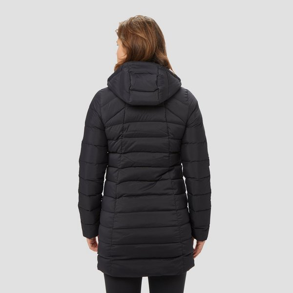 THE NORTH FACE STRETCH DOWN PARKA OUTDOOR JAS ZWART DAMES