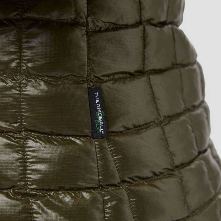 THE NORTH FACE THERMOBALL ECO OUTDOOR JAS KHAKI DAMES