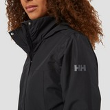 HELLY HANSEN ADEN INSULATED OUTDOOR JAS ZWART DAMES