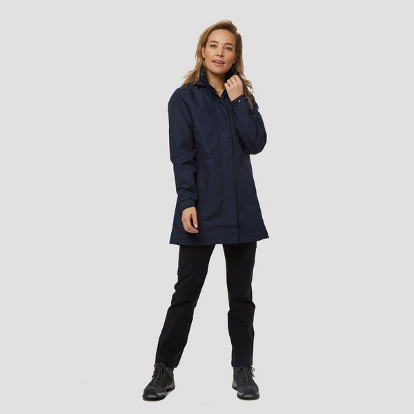HELLY HANSEN ADEN INSULATED COAT OUTDOOR JAS BLAUW DAMES