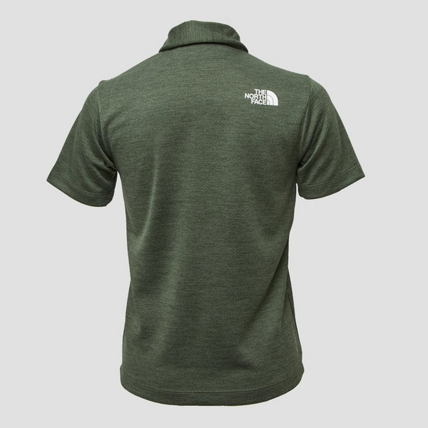 THE NORTH FACE OUTDOOR POLO GROEN KINDEREN