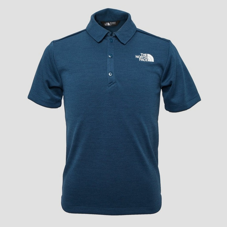 THE NORTH FACE OUTDOOR POLO BLAUW KINDEREN