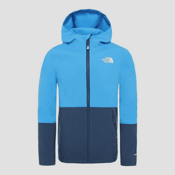THE NORTH FACE SOFTSHELL OUTDOOR JAS BLAUW KINDEREN