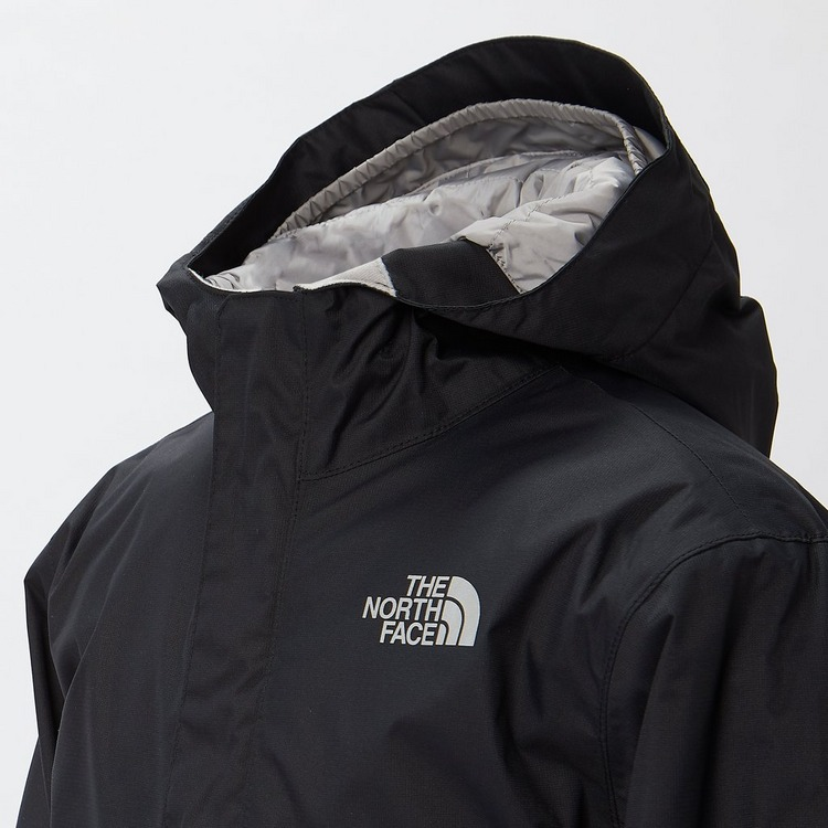 THE NORTH FACE SNOW QUEST SKI JAS ZWART KINDEREN