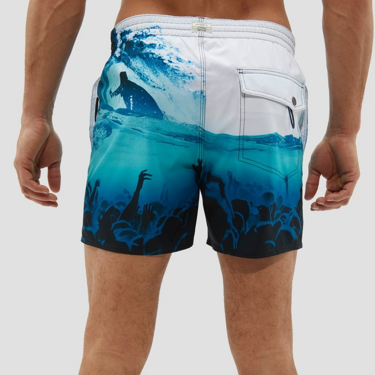 O'NEILL MID VERT PHOTO ART BOARDSHORT BLAUW/WIT HEREN