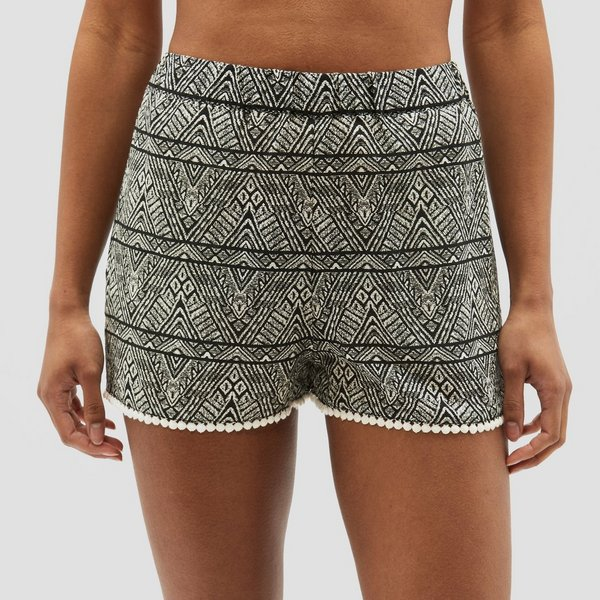 O'NEILL MIX & MATCH BEACH BOARDSHORT ZWART/WIT DAMES