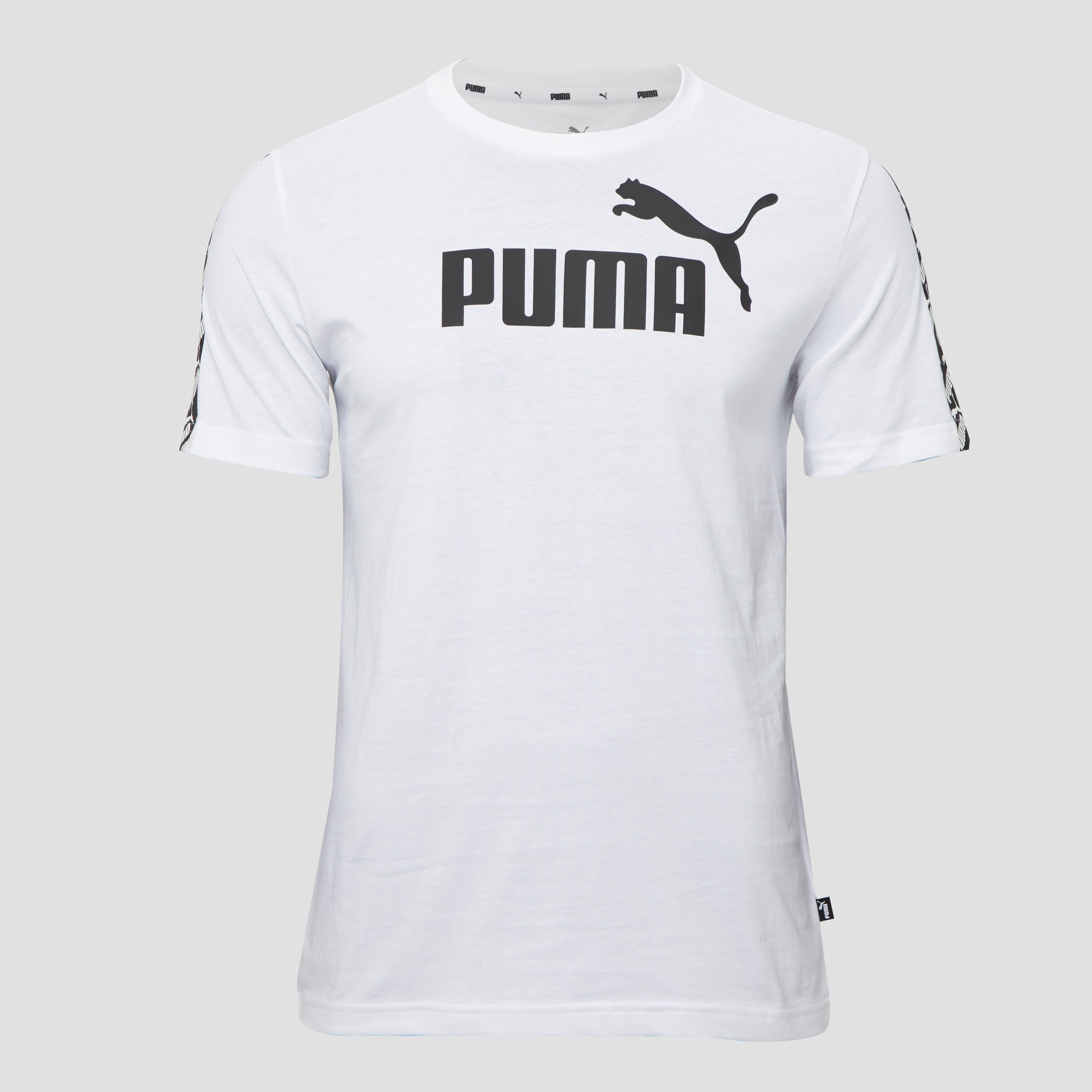 PUMA AMPLIFIED SHIRT WIT HEREN | Perrysport