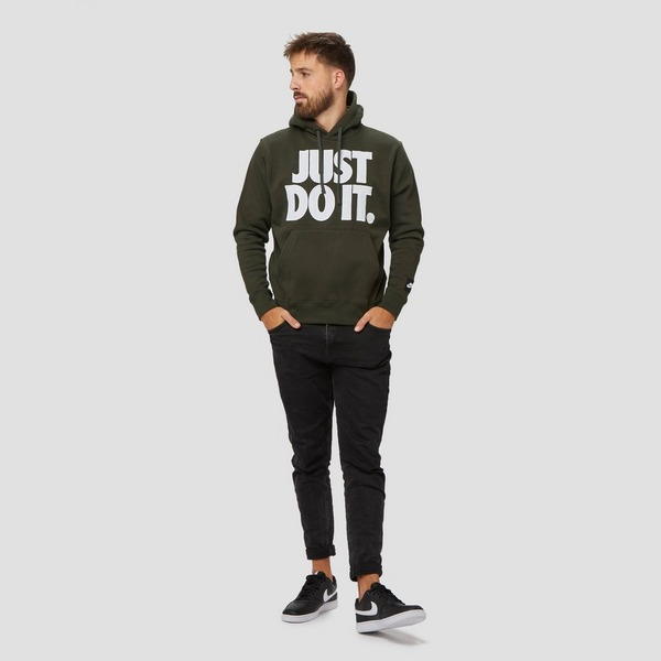 NIKE JUST DO IT FLEECE TRUI GROEN HEREN