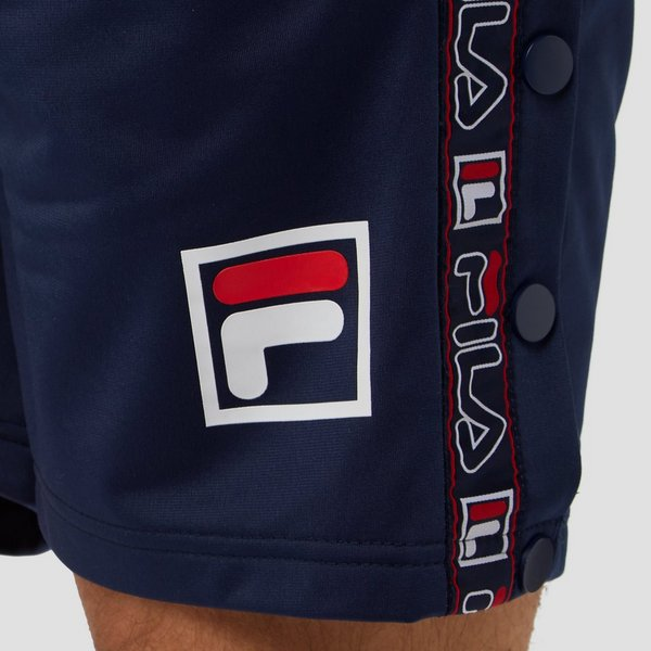 FILA RENDE TAPED POPPER KORTE BROEK BLAUW HEREN