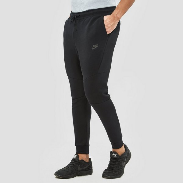 nike sportswear tech fleece joggingbroek zwart heren | perrysport