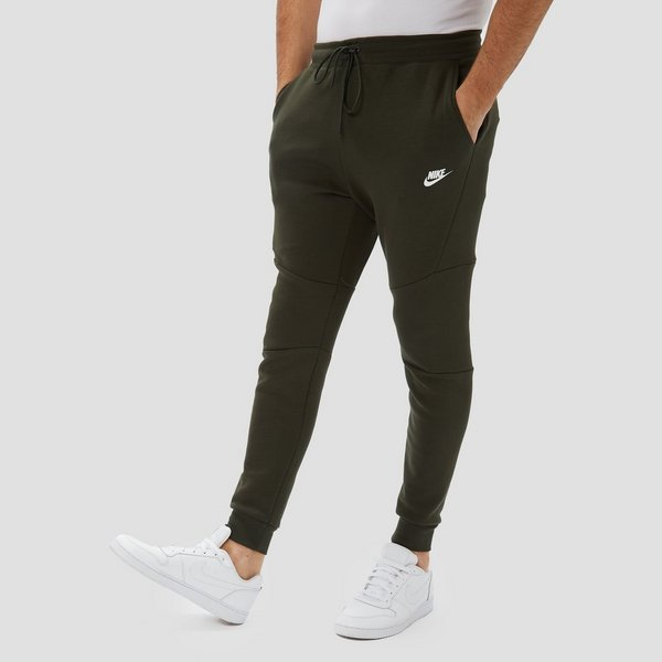 Joggingbroek Groen.Nike Sportswear Tech Fleece Joggingbroek Groen Heren Perrysport