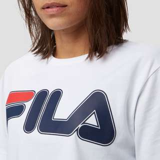 FILA ASTRA CROPPED SHIRT WIT DAMES