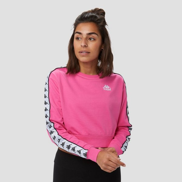 KAPPA 222 BANDA SWEATER ROZE DAMES