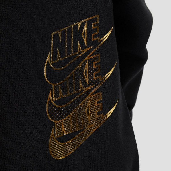 NIKE ONE SERIES SHINE TRUI ZWART/GOUD DAMES