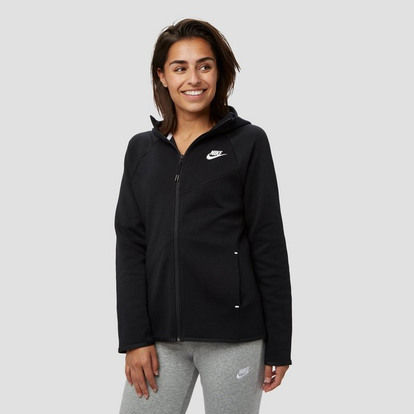 NIKE SPORTSWEAR TECH FLEECE VEST ZWART DAMES