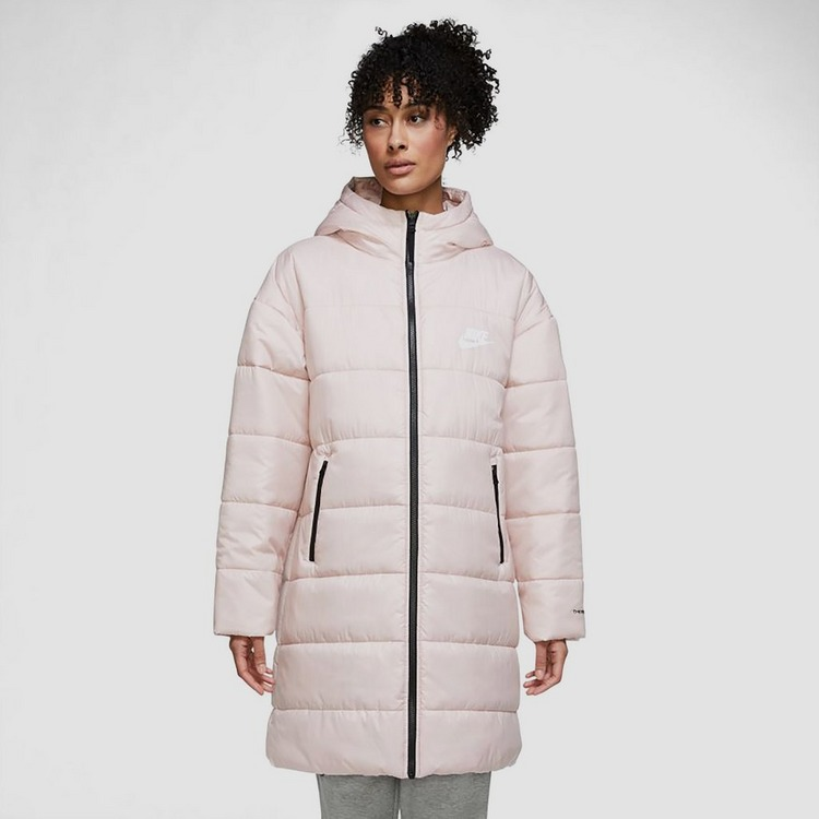 NIKE THERMA-FIT REPEL CLASSIC PARKA WINTERJAS ROZE DAMES