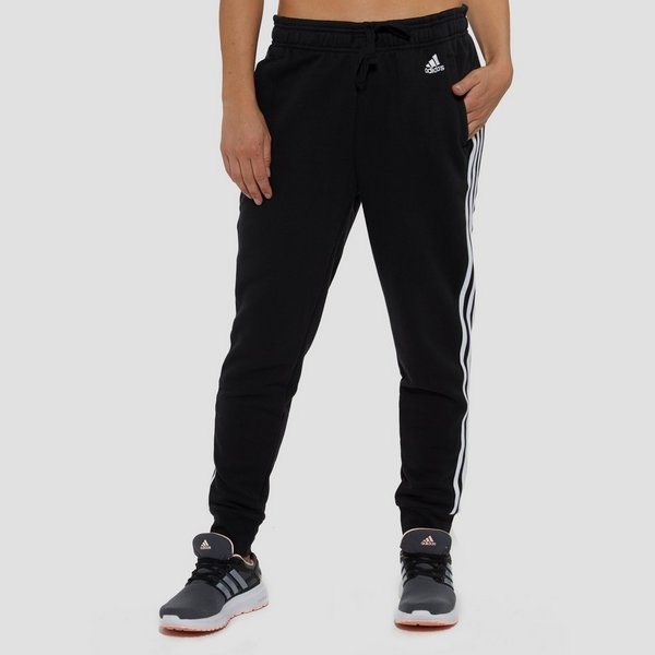adidas essentials 3-stripes joggingbroek zwart dames | perrysport