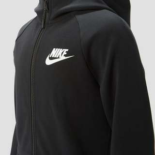 NIKE SPORTSWEAR ESSENTIAL TECH FLEECE VEST ZWART KINDEREN