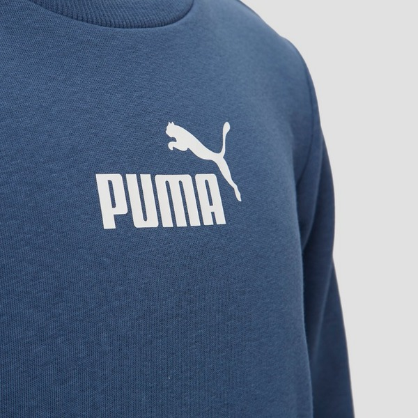 PUMA AMPLIFIED CREW SWEATER BLAUW KINDEREN