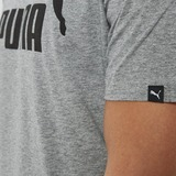 PUMA NO. 1 LOGO SHIRT GRIJS HEREN