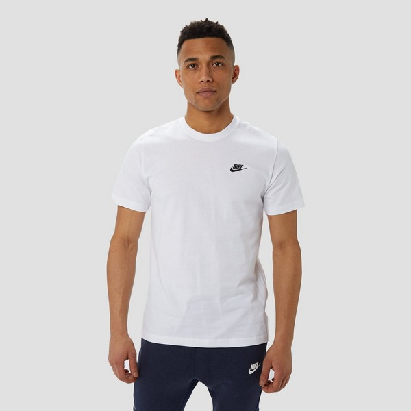 NIKE SPORTSWEAR CLUB SHIRT WIT HEREN