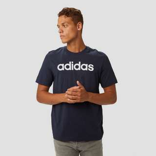 ADIDAS ESSENTIALS LINEAR SHIRT BLAUW HEREN