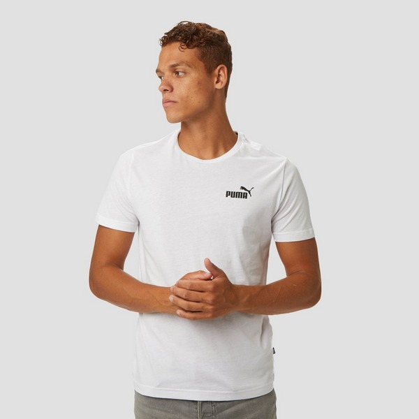 PUMA ESSENTIAL SMALL LOGO SHIRT WIT HEREN