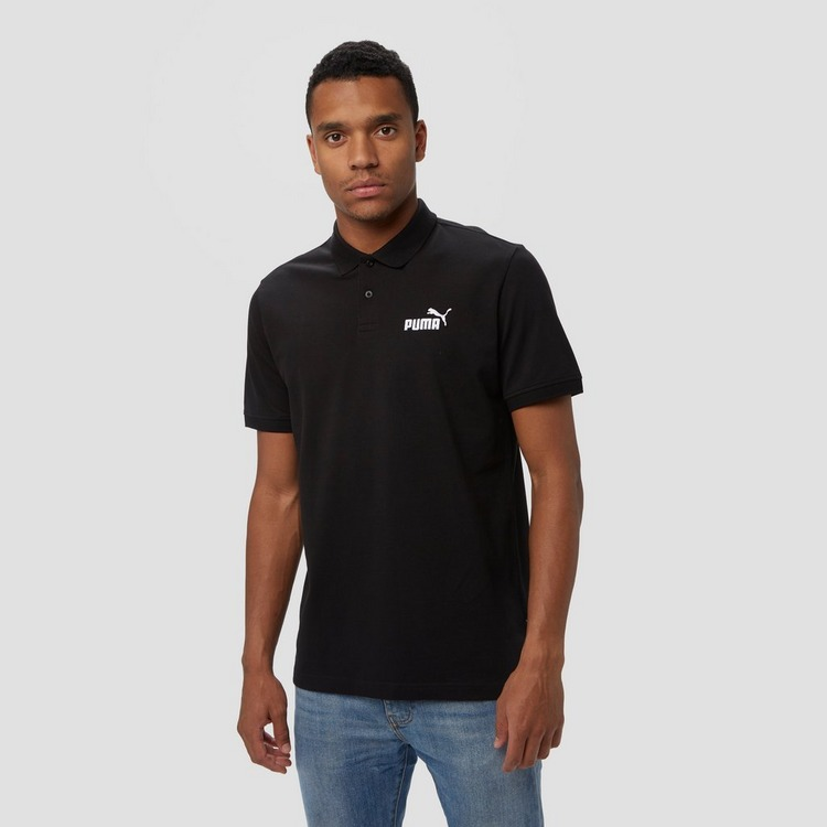 PUMA ESSENTIAL PIQUE POLO ZWART HEREN