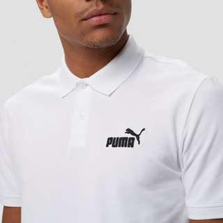 PUMA ESSENTIAL PIQUE POLO WIT HEREN