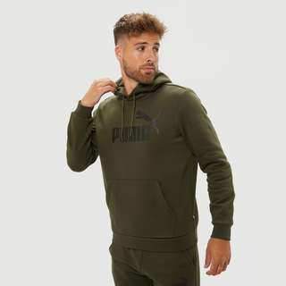 PUMA ESSENTIAL BIG TRUI LOGO GROEN HEREN