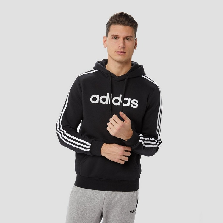 ADIDAS ESSENTIALS 3-STRIPES TRUI ZWART HEREN