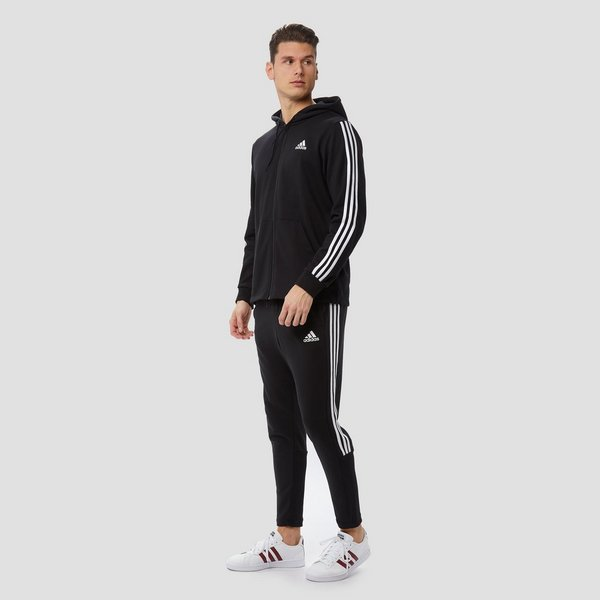 ADIDAS 3-STRIPES VEST ZWART HEREN