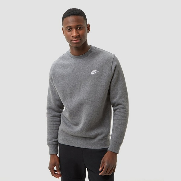 NIKE SPORTSWEAR CLUB CREW SWEATER GRIJS HEREN