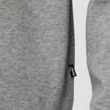 PUMA ESSENTIAL LOGO CREW FLEECE SWEATER GRIJS HEREN