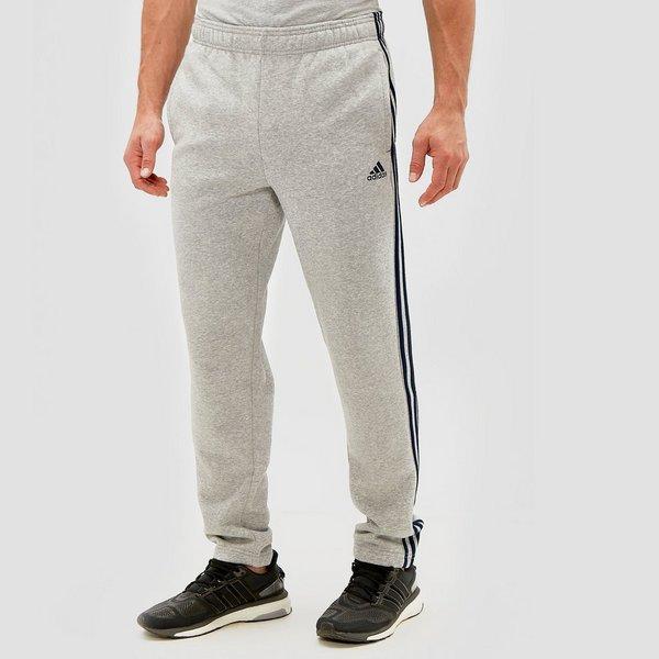 Grijze Joggingbroek.Adidas Essentials 3 Stripes Joggingbroek Grijs Heren Perrysport
