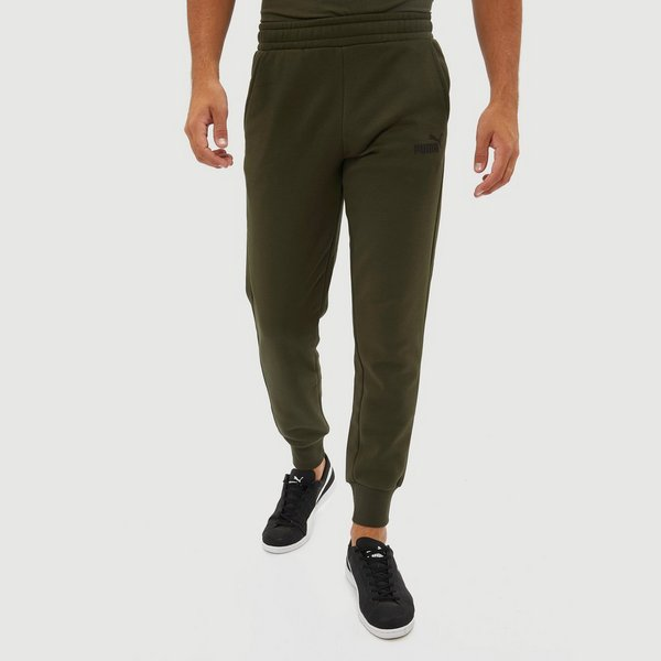 Joggingbroek Groen.Puma Essential Logo Fleece Joggingbroek Groen Heren Perrysport