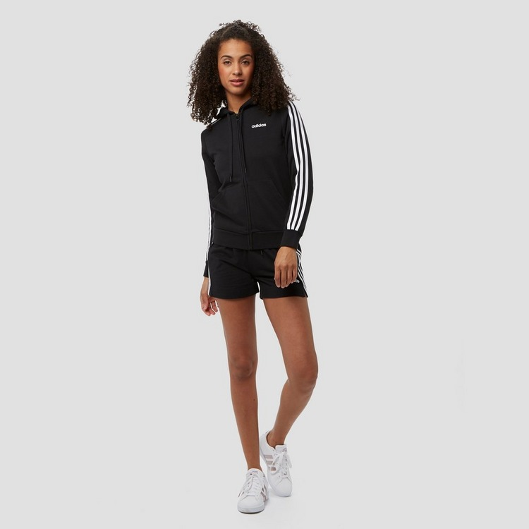 ADIDAS ESSENTIALS 3-STRIPES VEST ZWART DAMES