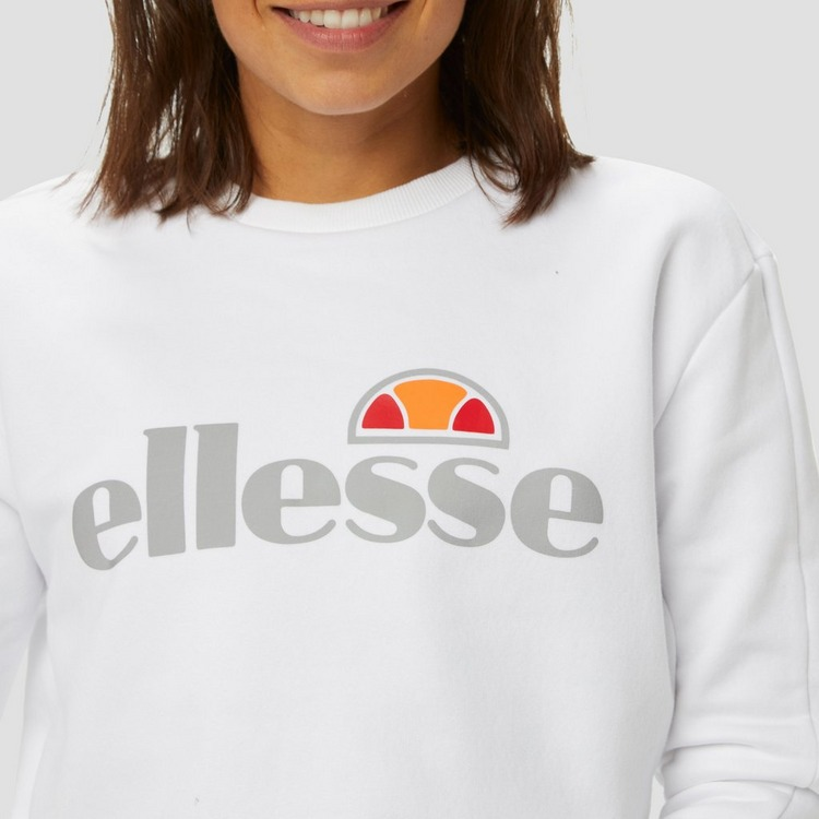 ELLESSE SARRINO SWEATER WIT DAMES