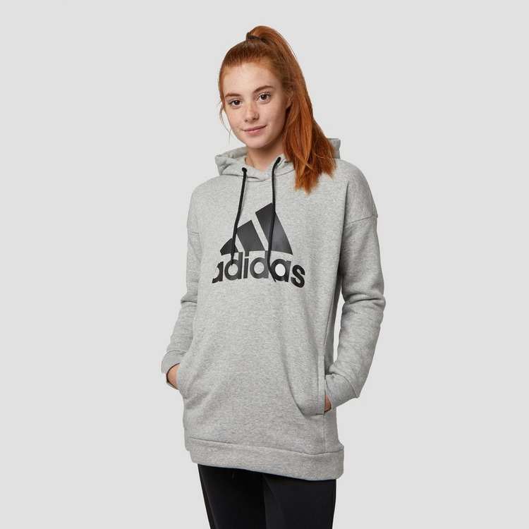 ADIDAS BADGE OF SPORT OH TRUI GRIJS DAMES