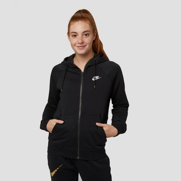 NIKE ESSENTIALS FLEECE VEST ZWART DAMES