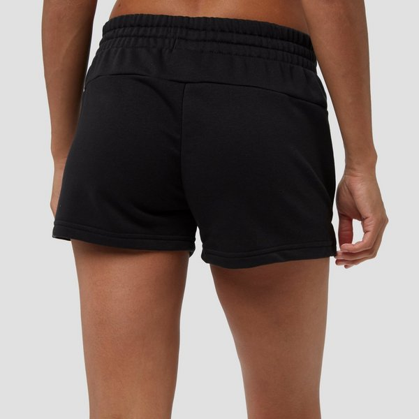 Korte Broek Zwart Dames.Adidas Essentials Linear Korte Broek Zwart Dames Perrysport