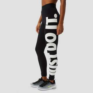 NIKE SPORTSWEAR LEGASEE JUST-DO-IT TIGHT ZWART DAMES