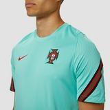NIKE UEFA EURO 2020/2021 FPF PORTUGAL BREATHE STRIKE TRAININGSSHIRT 20/22 GROEN HEREN