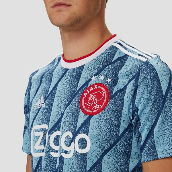 adidas AFC AJAX UITSHIRT 20/21 BLAUW HEREN