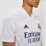 ADIDAS REAL MADRID THUISSHIRT 20/21 WIT/ROZE HEREN