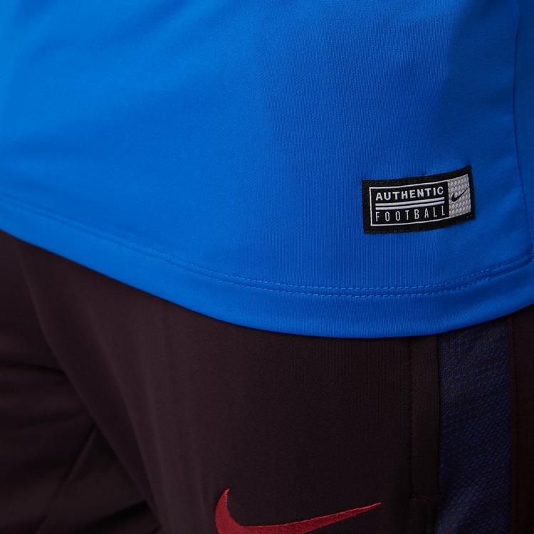 NIKE FC BARCELONA DRI-FIT STRIKE DRILL TRAININGSTOP 19/20 BLAUW HEREN