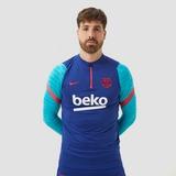 NIKE FC BARCELONA DRI-FIT STRIKE DRILL TRAININGSTOP 20/21 BLAUW HEREN