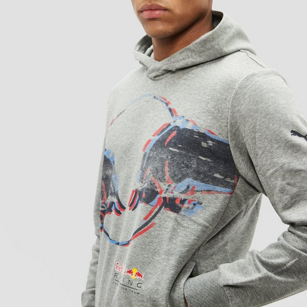 PUMA RED BULL RACING DOUBLE BULL TRUI GRIJS HEREN